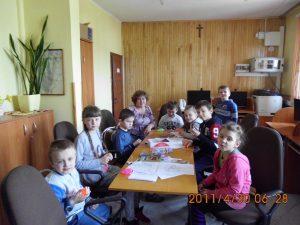 Dzień Wiosny w Bibliotece w Jasionowie