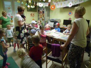 Przedszkolaki w Bibliotece – Trześniów