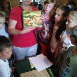Relacja z półkolonii organizowanej przez Szkołę Podstawową oraz Koło Gospodyń Wiejskich przy wsparciu Biblioteki i Gminnego Ośrodka Kultury i Wypoczynku w Haczowie.