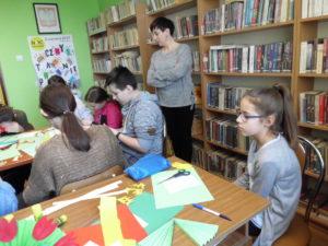 """Biblioteka Publiczna we Wzdowie – """"Czwartkowe spotkania"""""""