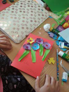 Dzień Matki w bibliotece w Jabłonicy Polskiej