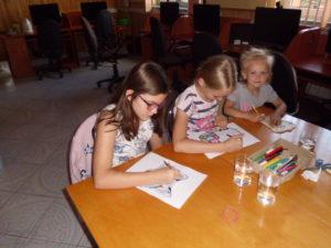 Wakacje w Bibliotece w Jasionowie