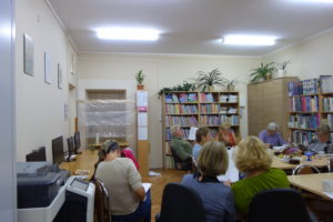 Spotkanie DKK w Gminnej Bibliotece Publicznej w Haczowie