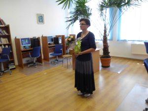 """""""SPOTKANIE Z MUSZELKĄ"""" spotkanie autorskie z panią Agnieszką Przywarą w Filii bibliotecznej w Malinówce"""
