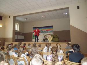 Spotkanie z teatrem w Jasionowie